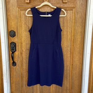 Old Navy   Navy Blue dress w/ pockets, size medium